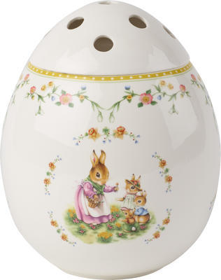 Váza vajce, Bunny Tales 21 cm Spring Fantasy
