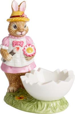 Miska na vajíčko, zajačica Anna, 10 cm Bunny Tales