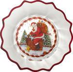 Misa, Santa s darčekmi, 25 cm Christmas Glass Acc. - 1/2