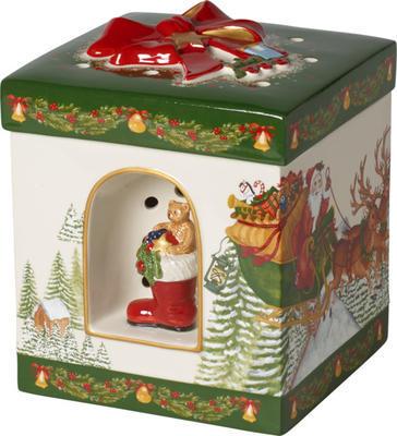 Hracia skrinka, hranatý darček Christmas Toys - 1