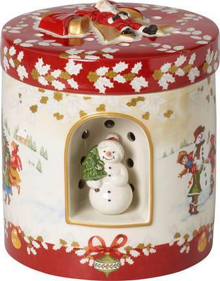 Hracia skrinka, okrúhly darček Christmas Toys - 1