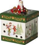 Svietnik, hranatý darček 9 cm Christmas Toys - 1/2