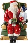 Hracia skrinka, Santa v kresle Christmas Toys - 1/2