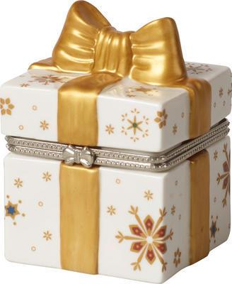 Malá dóza, hranatý darček 6,5 cm Christmas Toys - 1