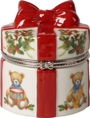 Malá dóza, okrúhly darček 7 cm Christmas Toys - 1