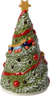 Svietnik, vianočná jedlička 16 cm Christmas Toys - 1