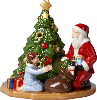 Svietnik, rozdávanie darčekov 14 cm Christmas Toys - 1