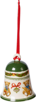 Závesný zvonček, medvedíci 7 cm My Christmas Tree - 1