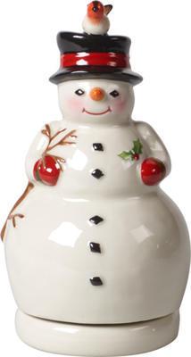 Hracia skrinka, otáčajúci snehuliak Nostal. Melody - 1