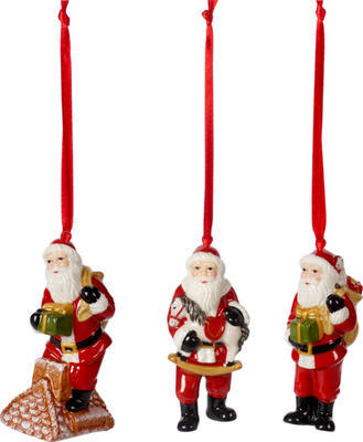 Závesné ozdoby, Santovia, 3 ks Nostalgic Ornaments - 1