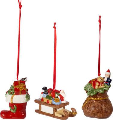 Závesné ozdoby, darčeky, 3 ks Nostalgic Ornaments - 1