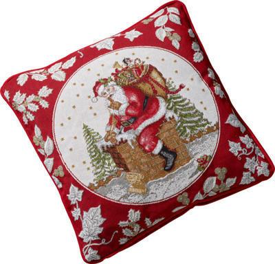 Vankúš, Santa na streche, 45 x 45 cm Toy's Fantasy - 1