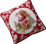Vankúš, Santa na streche, 45 x 45 cm Toy's Fantasy - 1/2