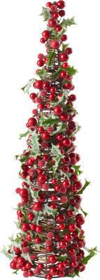 Dekorácia stromček, bobule 46 cm Winter Coll. Acc.