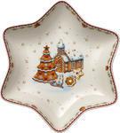 Stredná misa hviezda s dedinkou 24,5 cm WBD - 1/2