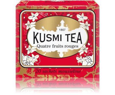 Four Red Fruits 20 vrecúšok Kusmi Tea - 1
