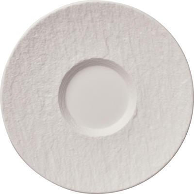 Podšálka 17 cm Manufacture Rock blanc - 1