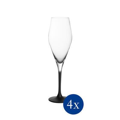 Pohár na šampanské 0,26 l, 4 ks Manufacture Rock - 1