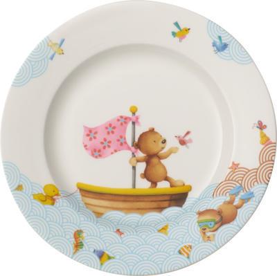 Detský plytký tanier 22 cm Happy as a Bear - 1