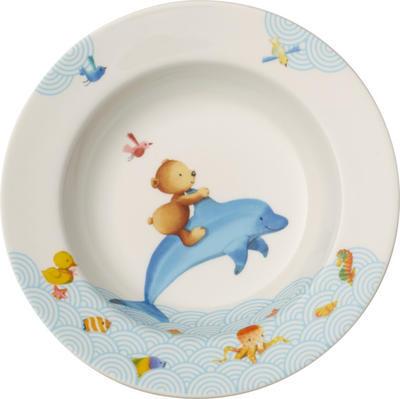 Detský hlboký tanier 19,5 cm Happy as a Bear - 1