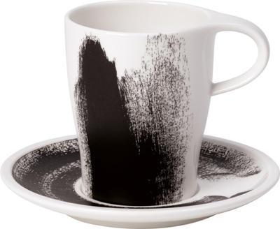 Hrnček na kávu s podšálkou 0,38 l Coffee Pa. Awake - 1