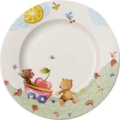 Detský plytký tanier 22 cm Hungry as a Bear - 1