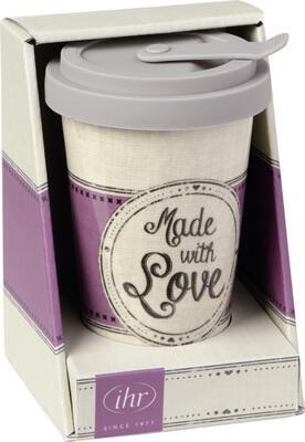 Hrnček na kávu so sebou, Made w. Love, 0,25 l IHR