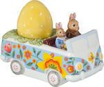 Dekorácia, veľkonočný autobus 14 cm Bunny Tales - 1/2