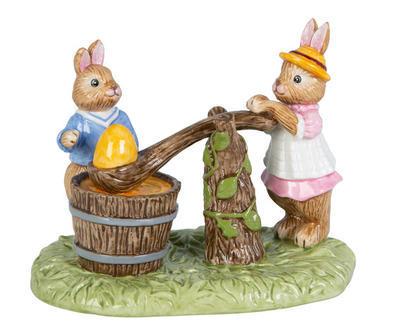 Dekorácia, namáčanie vajíčka 13,5 cm Bunny Tales - 1