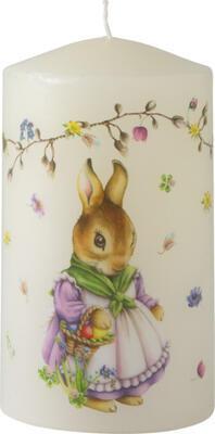 Sviečka, zajačica, veľká Easter Accessoires