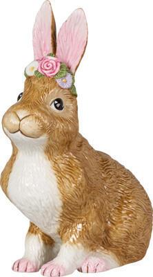 Sediaci zajac 19 cm Easter Bunnies - 1