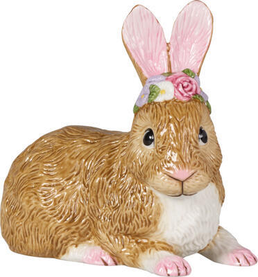 Ležiaci zajac 13 cm Easter Bunnies - 1