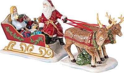 Svietnik, Santa na saniach 36 cm Christmas Toys - 1