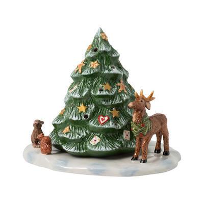 Svietnik, stromček a zvieratká 23 cm Christm. Toys - 1