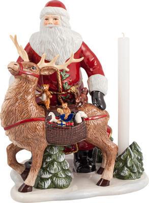 Svietnik, Santa so sobom 30 cm Christ. Toys Memory - 1