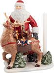 Svietnik, Santa so sobom 30 cm Christ. Toys Memory - 1/2
