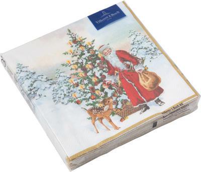 Servítky, Santa a stromček, stredné Winter Specia.