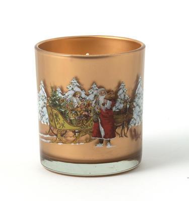 Svietnik, Santa so saňami 7,5 cm Winter Specials