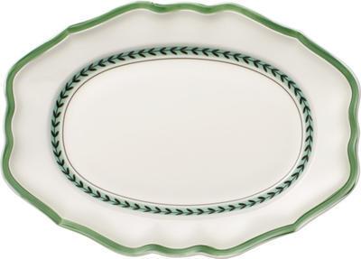 Oválny tanier 37 cm French Garden Green Line - 1