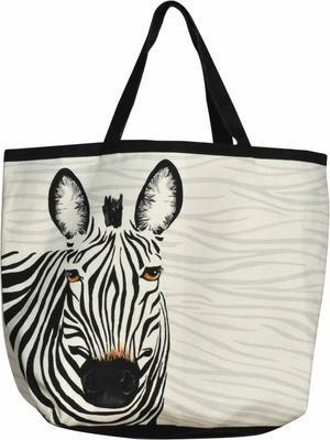 Textilná taška, zebra 42 x 54 cm Sander - 1