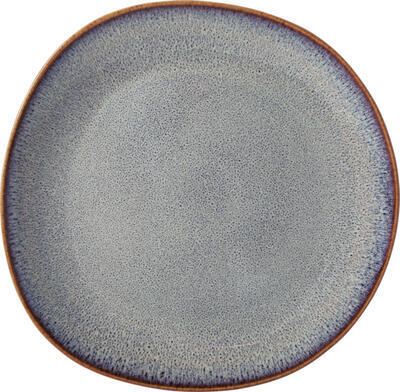 Plytký tanier 28 x 28 x 2,7 cm Lave beige