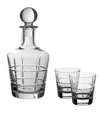 Karafa a poháre na whisky, 3 ks Ardmore Club - 1