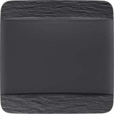 Hranatý plytký tanier 28 cm Manufacture Rock