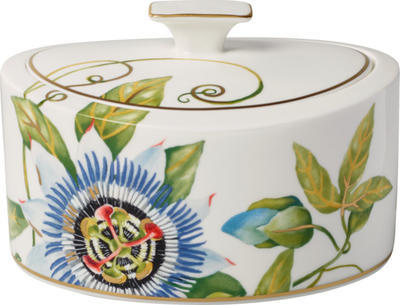 Porcelánová dóza 16 x 13 x 10 cm Amazonia Gifts - 1
