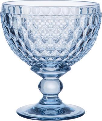Modrý pohár/miska na šampanské Boston coloured