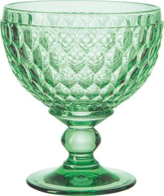 Zelený pohár/miska na šampanské Boston coloured