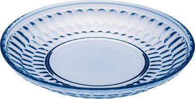Modrý dezertný tanier Boston coloured - 1