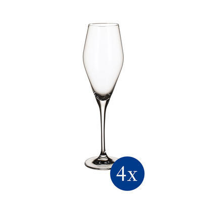Pohár na šampanské 0,26 l, 4 ks La Divina - 1