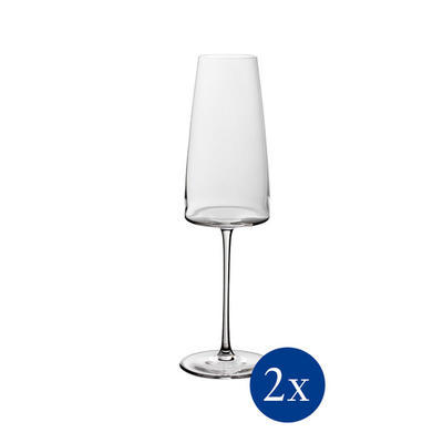 Pohár na šampanské 0,45 l, 2 ks MetroChic - 1
