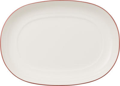 Oválny tanierik 20 cm Anmut Rosewood - 1